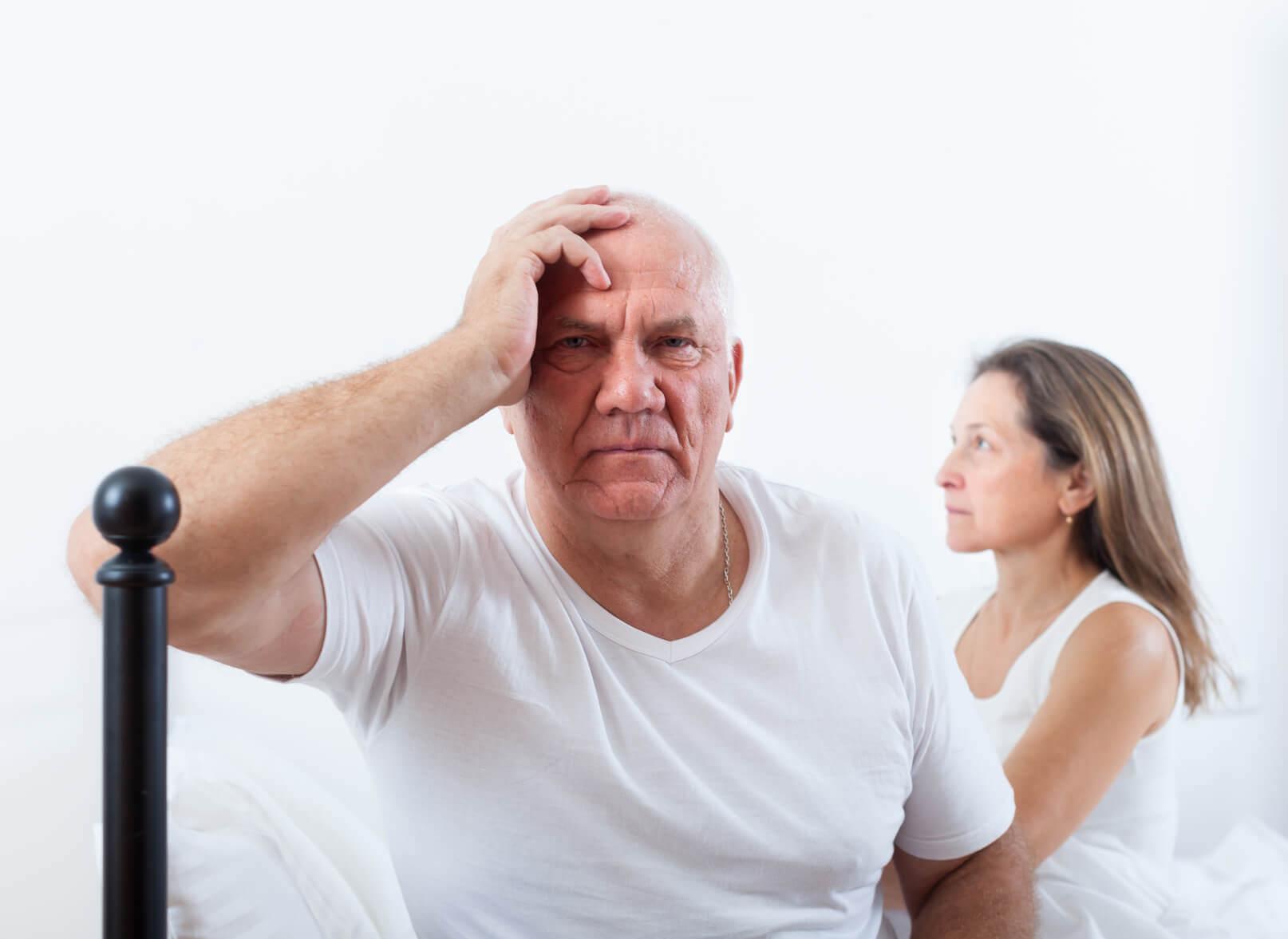 scăderea erecției din cauza prostatei tipuri de disfuncție erectilă