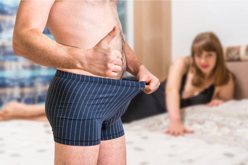 Bărbații au adesea o erecție erecții frecvente, bune sau rele
