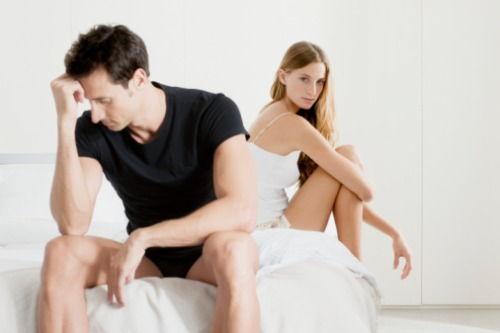 lipsa de erecție cu excitare puternică