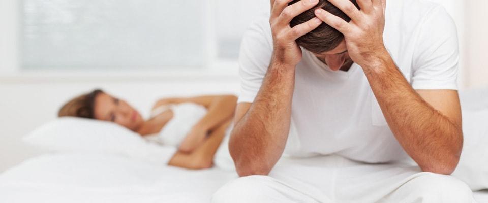 pierderea erecției înainte de actul sexual