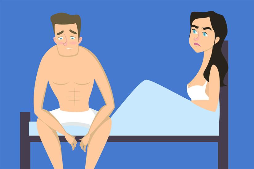 scăderea erecției din cauza prostatei care este debutul erecțiilor
