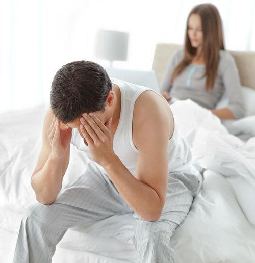 în mijlocul actului sexual, dispare o erecție